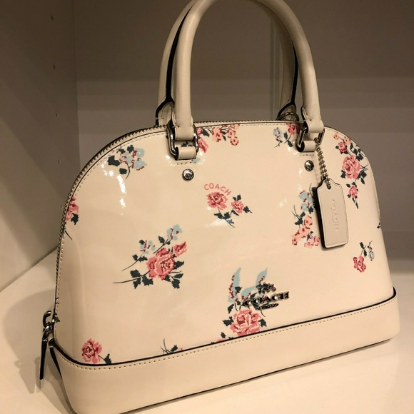 3a8056e1ac Coach floral purse